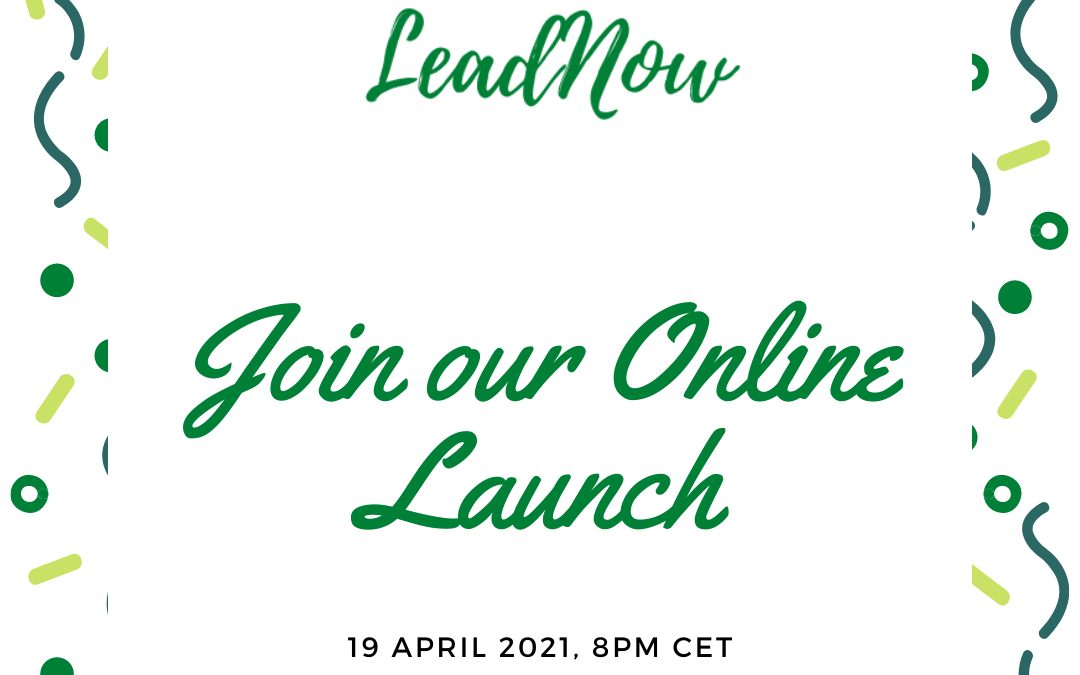 Save the date – Online Launch of LeadNow
